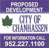 Proposed Development Sign